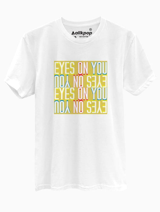 Eyes on You Tee Tees AKP Male White Small