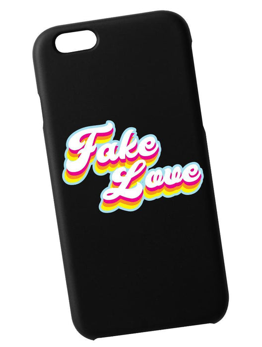 Fake Love Retro Case Phone Case AKP Black