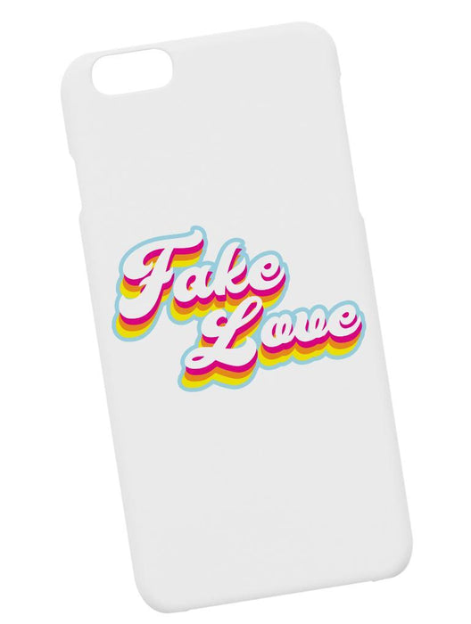 Fake Love Retro Case Phone Case AKP White