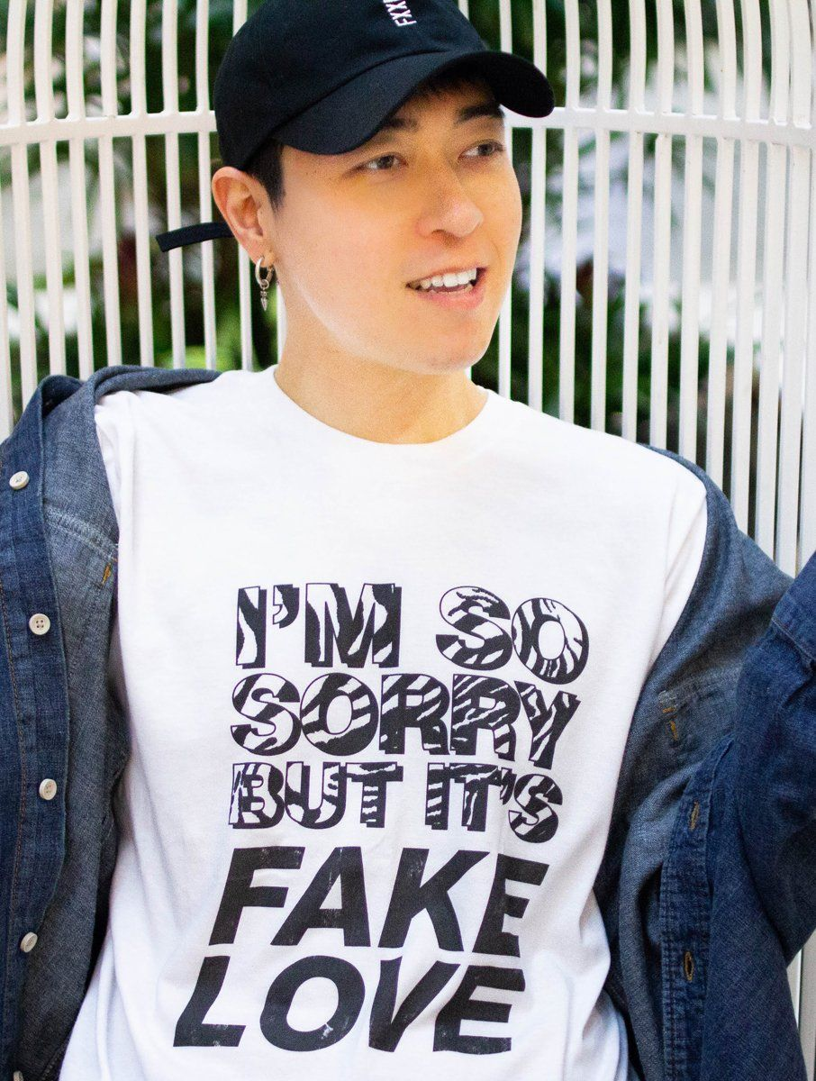 Sorry Fake Love Tee