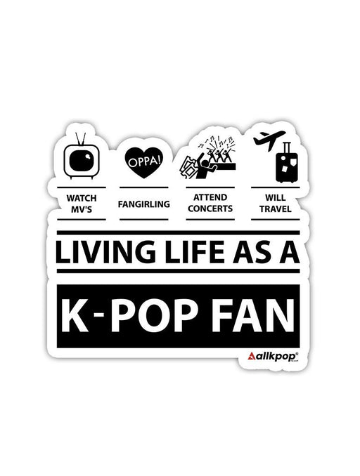 Fan Life Sticker Stickers AKP