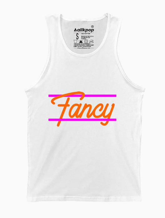 Fancy Tank Tanks AKP Unisex White Small