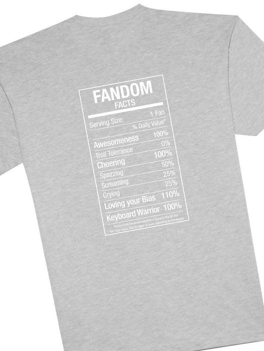 Fandom Fact Tee Tees AKP