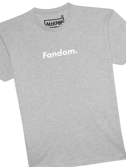 Fandom Fact Tee Tees AKP Male Grey Small