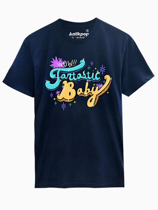 Fantastic Baby Tee Tees AKP Male Navy Small