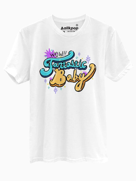 Fantastic Baby Tee Tees AKP Male White Small