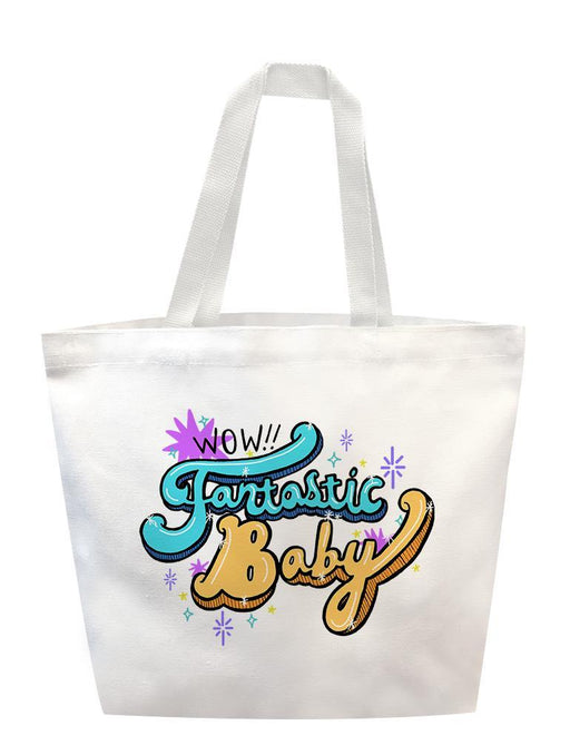 Fantastic Baby Tote Tote AKP White