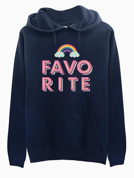 Favorite Hoodie Hoodies AKP Unisex Black Small