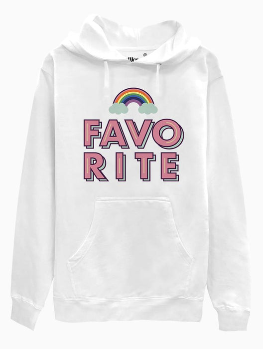 Favorite Hoodie Hoodies AKP Unisex White Small