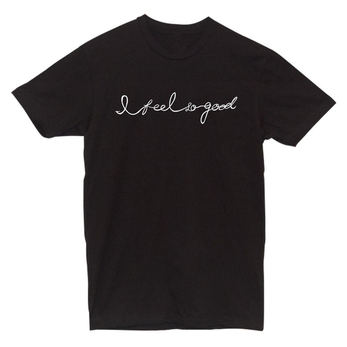 Feel Good Tee Tees AKP Male Black Small