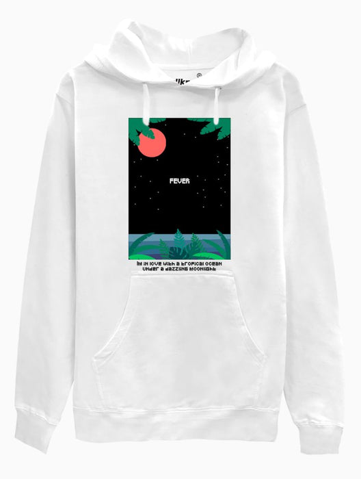 Fever Hoodie Hoodies AKP Unisex White Small