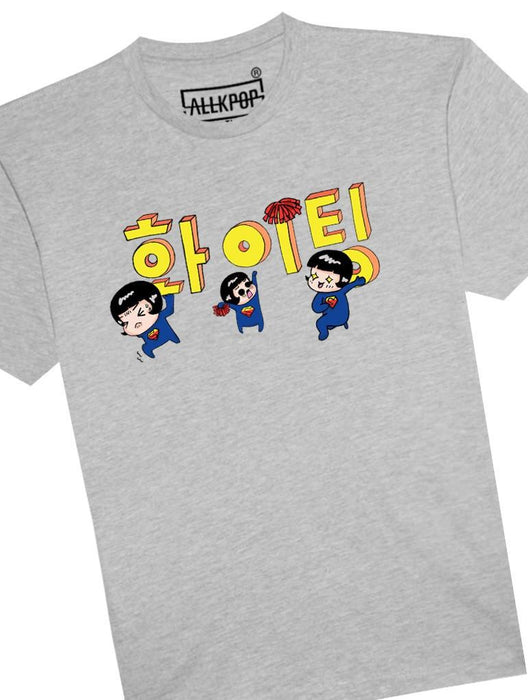 Fighting Tee Tees AKP Male Grey Small