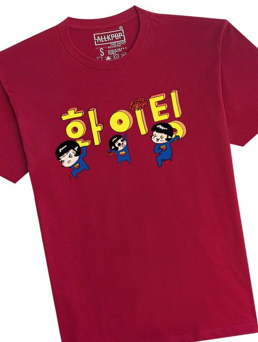 Fighting Tee Tees AKP Male Red Small