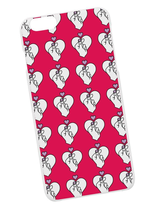 Finger Heart Case Phone Case AKP Pink