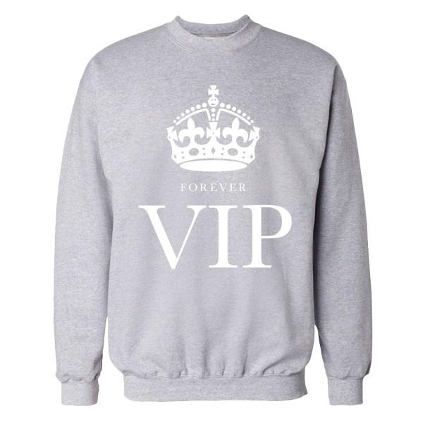FOREVER VIP Crew Crews AKP Unisex Grey Small