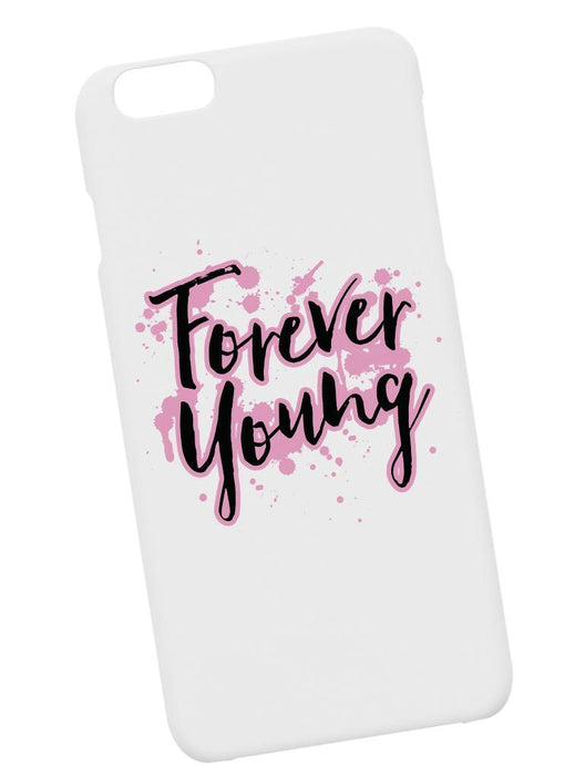 Forever Young Case Phone Case AKP White