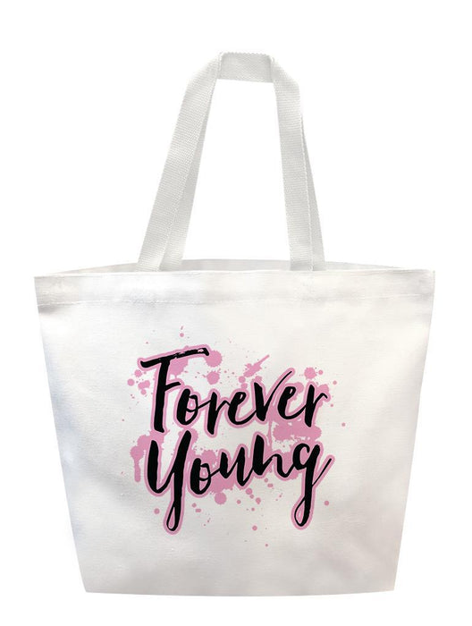 Forever Young Tote Tote AKP White