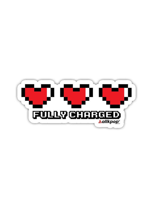 Fully Charged Sticker Stickers AKP