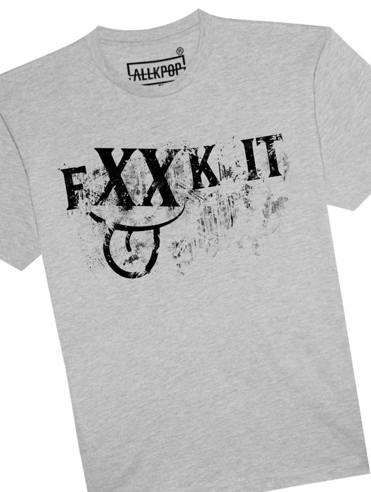 FXXK IT Tee Tees AKP Male Grey Small