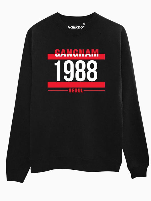G1988 Crew Crews AKP Unisex Black Small