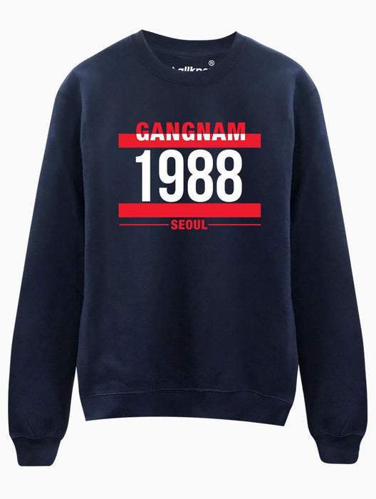 G1988 Crew Crews AKP Unisex Navy Small