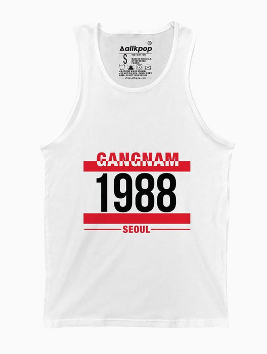G1988 Tank Tanks AKP Unisex White Small