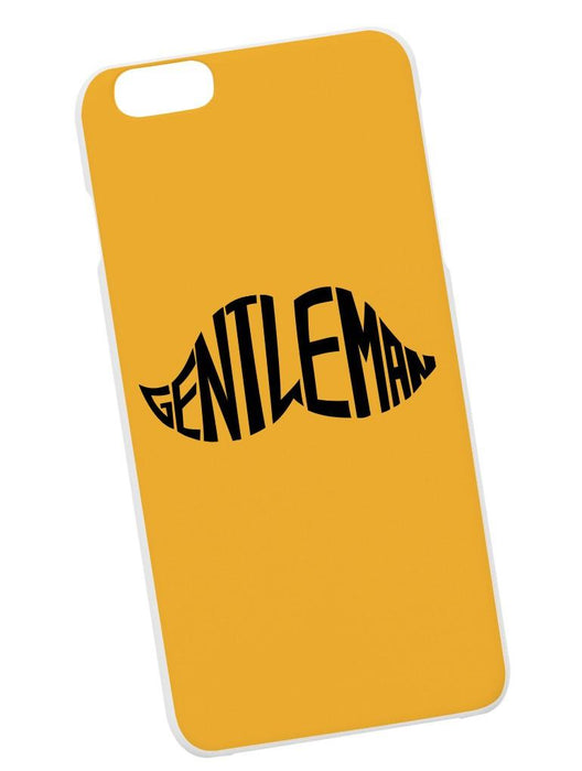 Gentleman Case Phone Case AKP Yellow