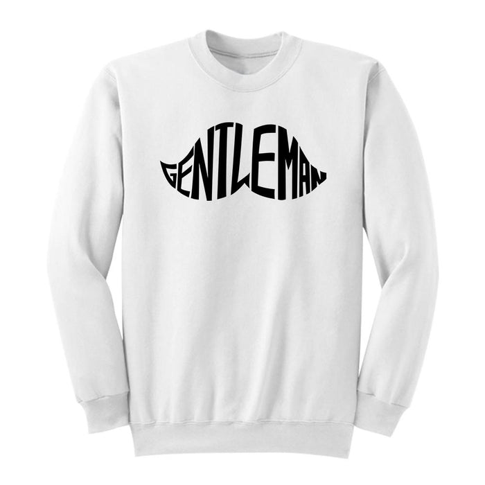 Gentleman Crew Crews AKP Unisex White Small