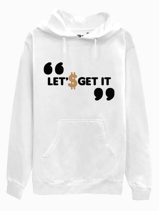 Get It Hoodie Hoodies AKP Unisex White Small