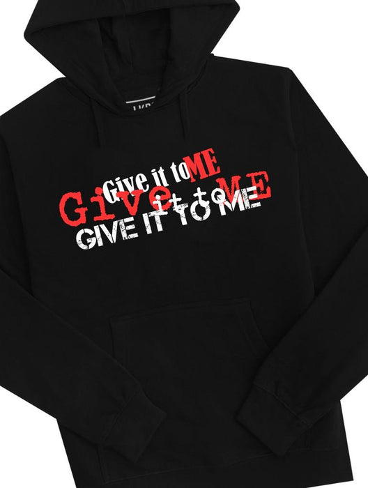 Give It Hoodie Hoodies AKP Unisex Black Small