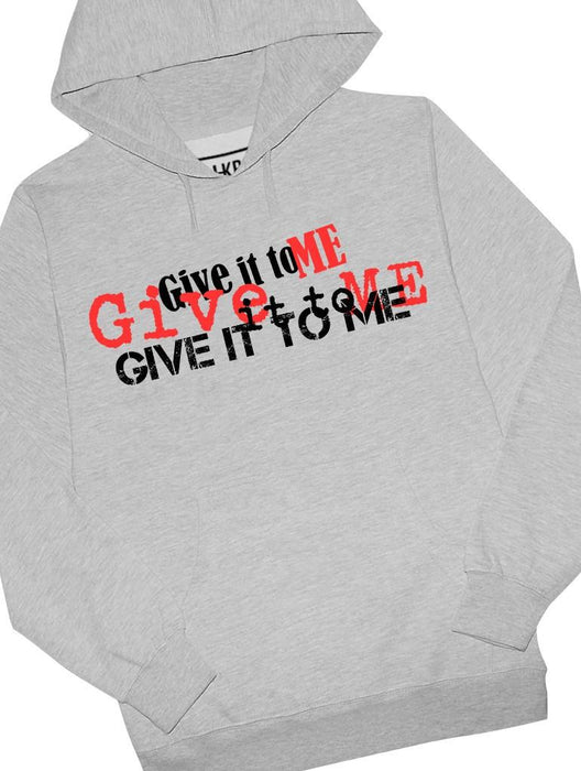 Give It Hoodie Hoodies AKP Unisex Grey Small