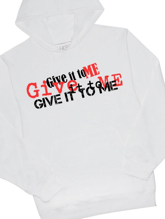 Give It Hoodie Hoodies AKP Unisex White Small