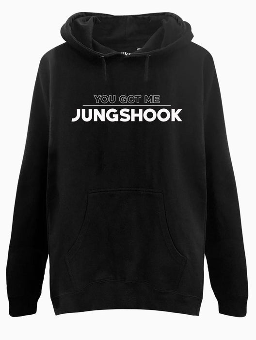 Got Jungshook Hoodie Hoodies AKP Unisex Black Small