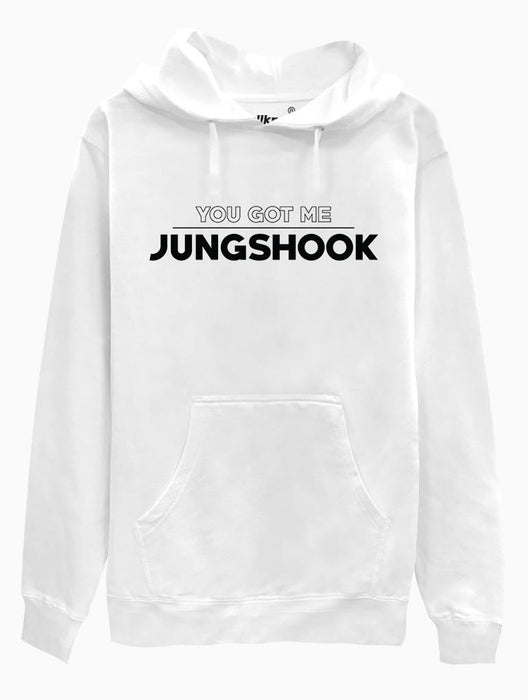 Got Jungshook Hoodie Hoodies AKP Unisex White Small