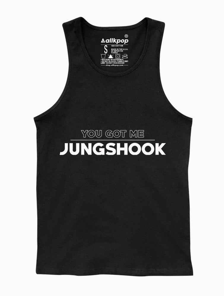 Got Jungshook Tank Tanks AKP Unisex Black Small
