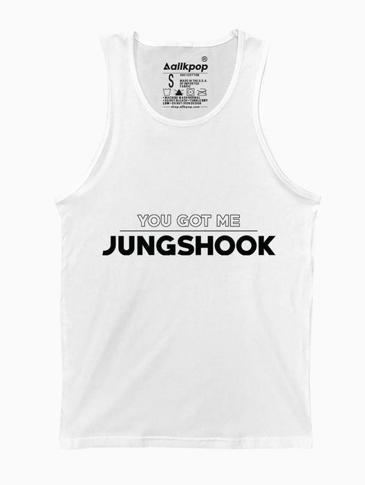 Got Jungshook Tank Tanks AKP Unisex White Small