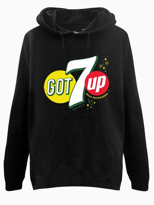 GOT7up Hoodie Hoodies AKP Unisex Black Small