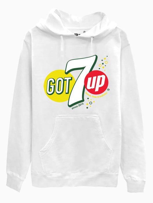 GOT7up Hoodie Hoodies AKP Unisex White Small