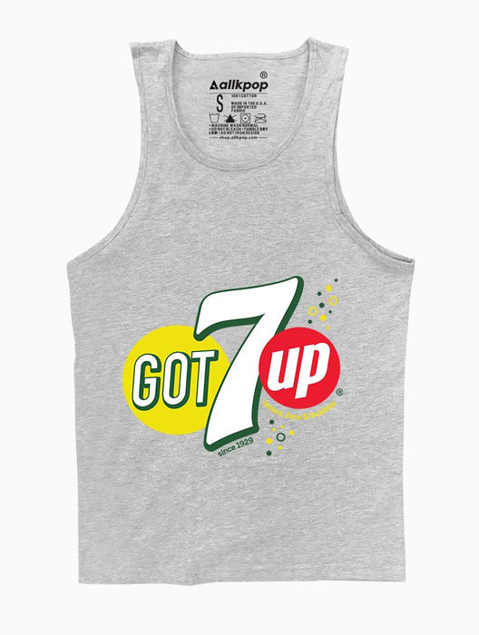 GOT7up Tank Tanks AKP Unisex Grey Small