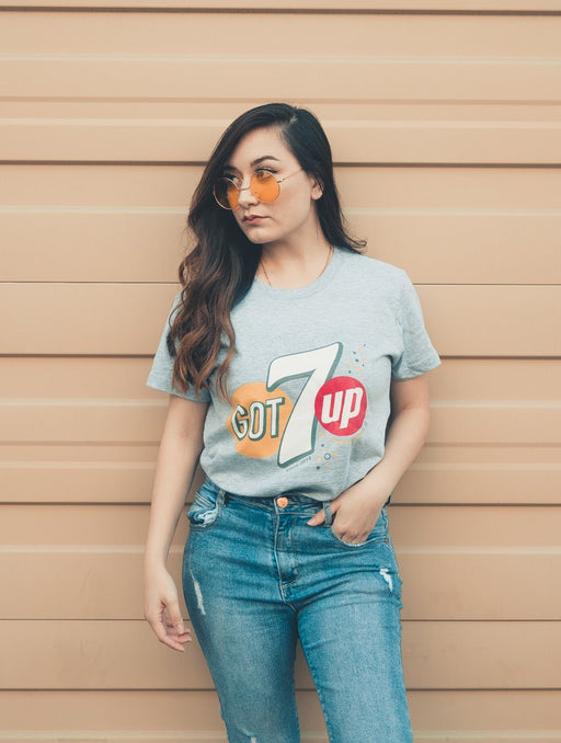 GOT7up Tee Tees AKP Male Grey Small