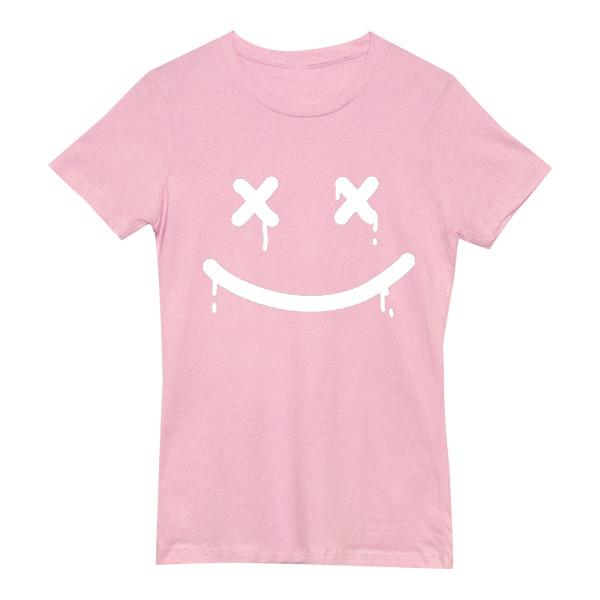 Happy Death Tee Tees AKP Female Pink Small
