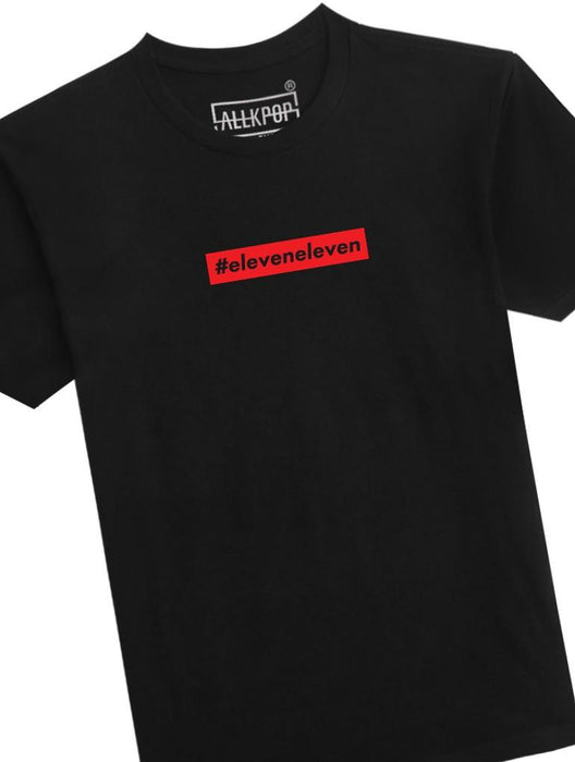 Hash Eleven Tee Tees AKP Male Black Small