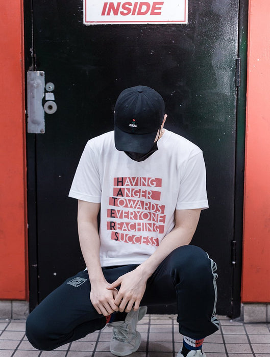 Haters Tee Tees AKP Male White Small