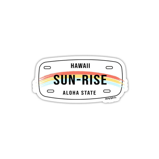 Hawaii Tag Sticker