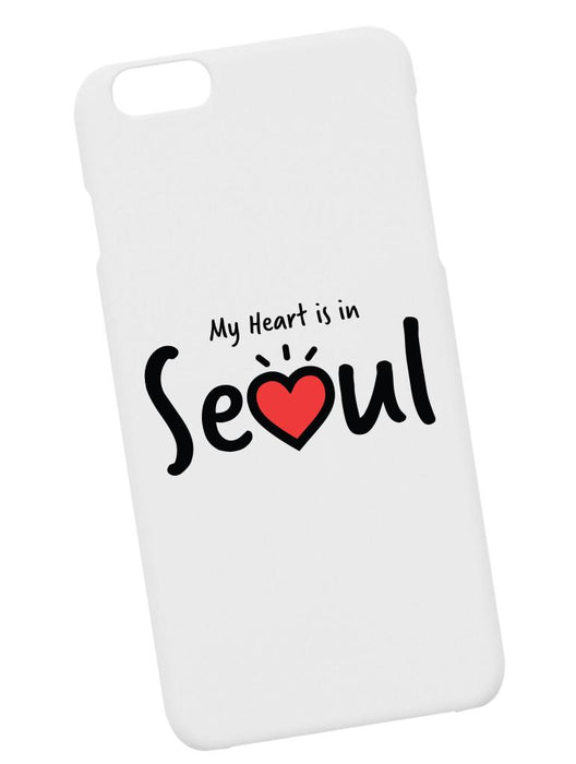 Heart Seoul Case Phone Case AKP White