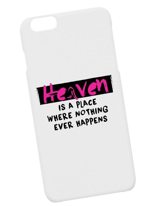 Heaven Happens Case Phone Case AKP White
