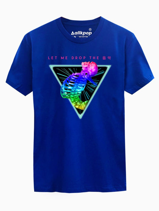 HIT Seventeen Tee Tees AKP Male Blue Small