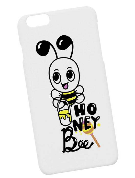 Honey Bee Case Phone Case AKP White