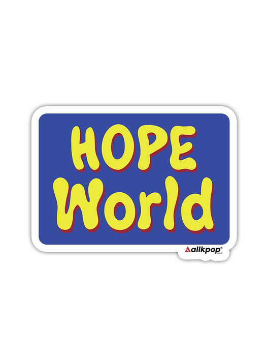 Hope World Sticker Stickers AKP