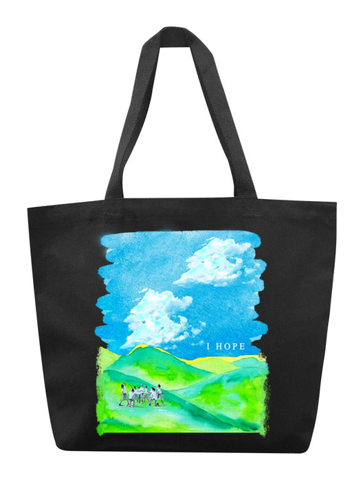 I HOPE Tote Tote AKP Black